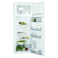 AEG SDB51421AS Einbau Kühl-Gefrier-Kombination mit Gefrierteil oben / 180 Liter Kühlschrank / 38 Liter Gefrierschrank / sparsamer Einbaukühlschrank mit Gefrierfach und Glasablagen / A++ (196 kWh/Jahr) / Einbau-Höhe: 144,6 cm / weiß [Energieklasse A++]