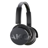 AKG Y 50 On-Ear Kopfhörer Tragbar Faltbar mit Abnehmbarem Audiokabel und Universal Integrierter Lautstärkeregelung/Mikrofon Kompatibel mit Apple iOS und Android Geräten - Schwarz