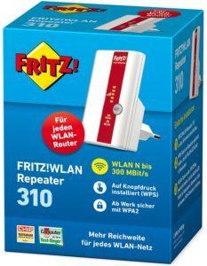 AVM FRITZ!WLAN Repeater 310 (300 Mbit-s, WPS), weiß, deutschspra