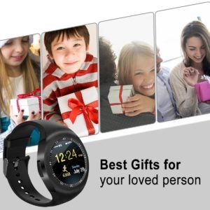 Bluetooth Smart Watch Wasserdicht Handy-uhr Sport Smartwatch Uhr Phone Touchscreen Armbanduhr Smart Uhr Telefon Kompatible IOS Andriod Iphone Smartphones