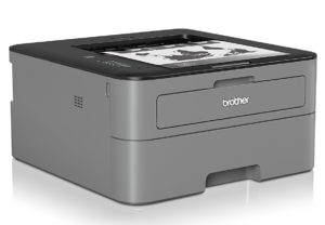 Brother HL-L2300D Monochrome Laserdrucker (2400 x 600 dpi, USB 2.0) schwarz