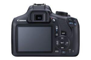 Canon EOS 1300D Digitale Spiegelreflexkamera (18 Megapixel, APS-C CMOS-Sensor, WLAN mit NFC, Full-HD) Kit inkl. EF-S 18-55mm
