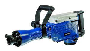 Einhell Abbruchhammer BT-DH 1600-1 (1600 W, 43 J, Sechskant-Aufnahme 30 mm, Flach- und