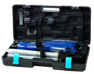 Einhell Abbruchhammer BT-DH 1600-1 (1600 W, 43 J, Sechskant-Aufnahme 30 mm, Flach- und Spitzmeißel,