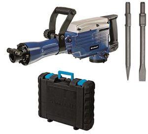 Einhell Abbruchhammer BT-DH 1600-1 (1600 W, 43 J, Sechskant-Aufnahme 30 mm, Flach- und Spitzmeißel, Koffer)