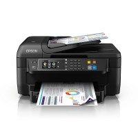 Epson WorkForce WF-2760DWF 4-in-1 Multifunktionsdrucker (Drucken, Duplex, Scannen, Kopieren, Faxen, WiFi, Dokumenteneinzug) schwarz