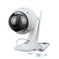 FLOUREON 1080P Dome IP Kamera Wlan Überwachungskamera PTZ Netzwerkkamera, Outdoor IP Cam, ONVIF 4x ZOOM P2P, Nachtsicht Bewegungsalarm, unterstützt Micro SD Karte