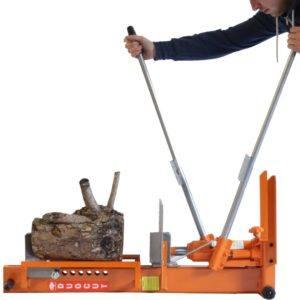 Forest Master Hydraulikholzspalter log splitter mit DuoCut blade, Duo10T Test