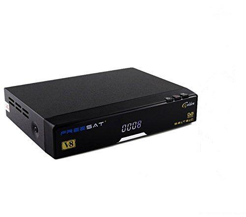 Frontansicht von dem Sat Receiver HP 1080P V8 von FreeSat