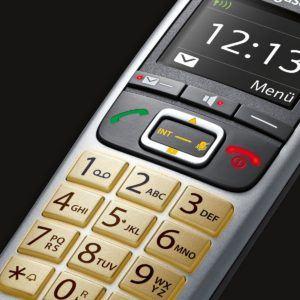 Gigaset E560HX Telefon - Schnurlostelefon