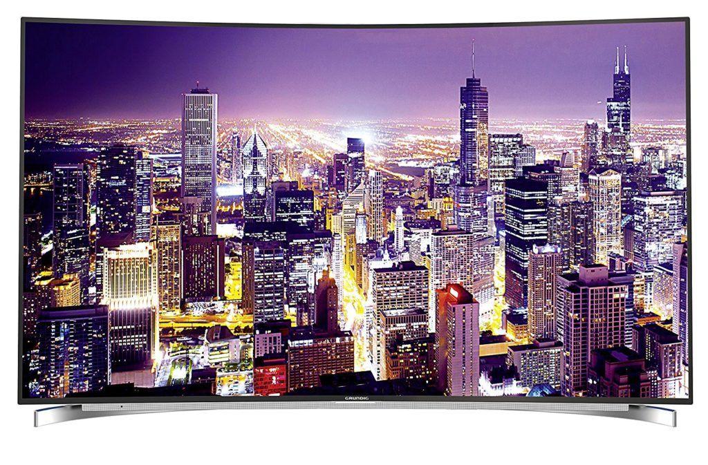 Grundig Fine Arts FLX 9591 SP 139 Cm 55 Zoll Curved Fernseher Ultra HD Triple Tuner 3D Smart TV Energieklasse B