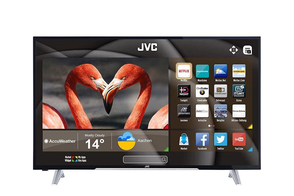 JVC F53 Serie FHD LT 49VF53A 124 Cm 49 Zoll Fernseher Full HD Triple Tuner Smart TV LED