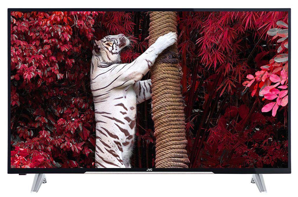 JVC F53 Serie FHD LT 49VF53A 124 Cm 49 Zoll Fernseher Full HD Triple Tuner Smart TV LED Energieklasse A