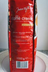 Jeden Tag Caffé Crema Verpackung 3