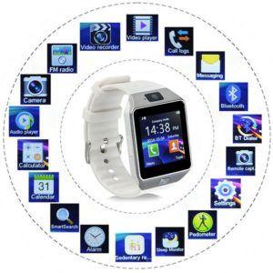 Kivors Smartwatch Bluetooth DZ09