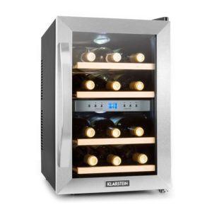 Klarstein Reserva • Weinkühlschrank • Getränkekühlschrank • 34 Liter • 12 Flaschen
