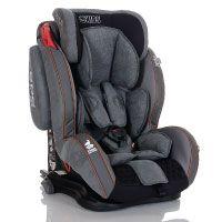 LCP Kids Auto-Kindersitz GT Isofix 9-36 kg mit Schlafposition; Farbe: Grau