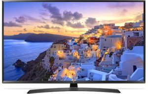 LG 49UJ635V 123 cm (49 Zoll) Fernseher (Ultra HD, Triple Tuner, Active HDR, Smart TV) [Energieklasse A]
