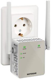 NETGEAR EX6120-100PES AC1200 Universal WLAN Range Repeater (AC, Dual-Band, RJ-45, 1200Mbit-s,