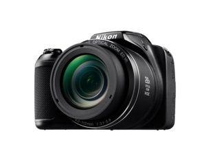 Nikon Coolpix L340 Digitalkamera (20,2 Megapixel, 28-fach opt. Zoom, 7,6 cm (3 Zoll