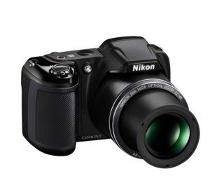 Nikon Coolpix L340 Digitalkamera (20,2 Megapixel, 28-fach opt. Zoom, 7,6 cm (3 Zoll) LCD