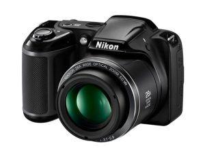 Nikon Coolpix L340 Digitalkamera (20,2 Megapixel, 28-fach opt. Zoom, 7,6 cm (3 Zoll) LCD-Display, USB 2.0,