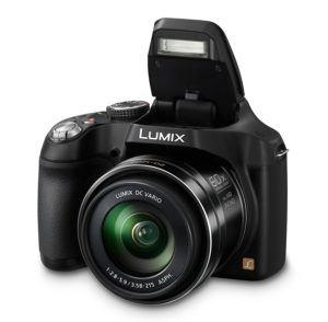 Panasonic LUMIX DMC-FZ72EG-K Premium-Bridgekamera (16,1 Megapixel, 60x opt. Zoom, 7,5 cm LC-Display, elektr. Sucher, Full HD