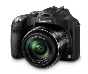Panasonic LUMIX DMC-FZ72EG-K Premium-Bridgekamera (16,1 Megapixel, 60x opt. Zoom, 7,5 cm LC-Display, elektr. Sucher, Full HD Video)
