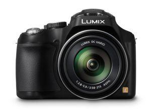 Panasonic LUMIX DMC-FZ72EG-K Premium-Bridgekamera (16,1 Megapixel, 60x opt. Zoom, 7,5 cm LC-Display, elektr. Sucher, Full HD Video) schwarz