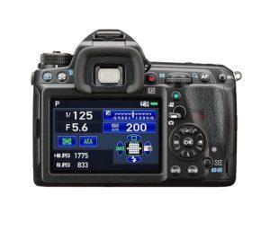 Pentax K-3II Gehäuse (24 Megapixel, 8 cm (3,2 Zoll) Display, Live-view, Full HD, GPS unit, Pixelshift)