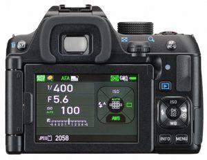 Pentax K-70 Gehäuse (24 Megapixel, 3 Zoll Display, Live-view