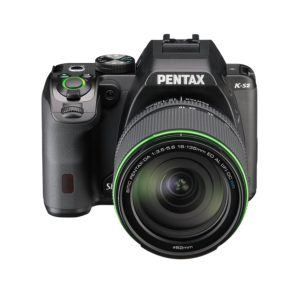 Pentax K-S2 Spiegelreflexkamera (20 Megapixel, 7,6 cm (3 Zoll) LCD-Display, Full-HD-Video, Wi-Fi, NFC, HDMI, USB 2.0) Kit inkl. 18-135mm WR-Objektiv