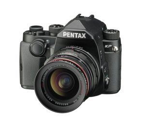 Pentax KP Digitalkamera, 24 MP CMOS Sensor