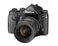 Pentax KP Digitalkamera, 24 MP CMOS Sensor, Full HD Video, 3 LCD Monitor, Schwarz