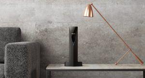 Philips Audio Linea V schnurloses Telefon Design Vertikal mit Anrufbeantworter