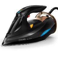 Philips Azur Elite GC5033/80 Dampfbügeleisen (3000 W, mit DynamiQ-Modus, intelligentem Dampfausstoß, 250g Dampfstoß und Calc-Clean-Funktion) schwarz/kupfer