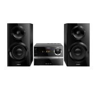 Philips BTB2370/12 Micro Stereoanlage mit Bluetooth (70 Watt, DAB+, UKW, USB) schwarz