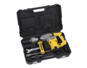 Powerplus powx1183 1050 W SDS Max Rotary Hammer – Bohrhammer (Black, Silver, Yellow, 220 – 240, 126 mm, 510 mm,