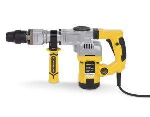 Powerplus powx1183 1050 W SDS Max Rotary Hammer – Bohrhammer (Black, Silver, Yellow, 220 – 240, 126 mm, 510 mm, 332