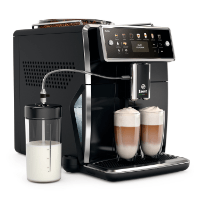 Saeco Xelsis SM7580/00 Kaffeevollautomat (LED Display, DE Version) pianoschwarz