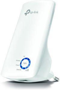 TP-Link TL-WA850RE WLAN Repeater (300 Mbits, App Steuerung, 1 Port, WPS, LED abschaltbar, kompatibel mit allen WLAN Geräten)