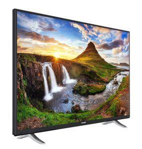 Telefunken XU50D401 127 cm (50 Zoll) Fernseher (4K Ultra HD, Smart TV, Triple Tuner) [Energieklasse A+]