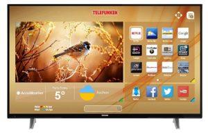 Telefunken XU50D401 127 cm (50 Zoll) Fernseher (4K Ultra HD, Smart TV, Triple Tuner) [Energieklasse A+] Test
