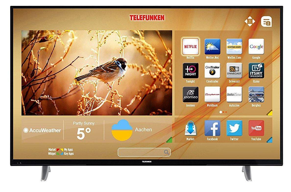 Telefunken XU50D401 Fernseher im Smart TV Test