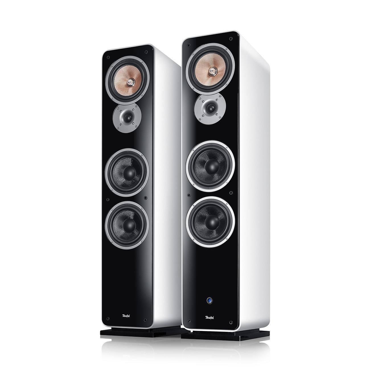 Teufel Ultima 40 Aktiv Schwarz Stand-Lautsprecher im 5.1 Lautsprecher Test