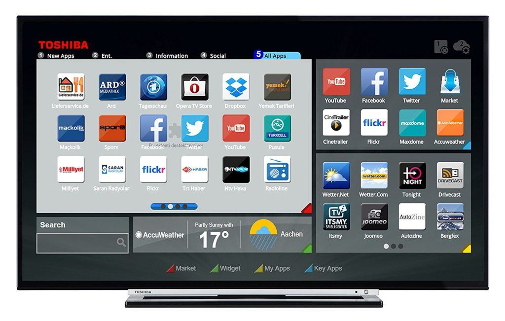 Toshiba 49L3763DA 124 Cm 49 Zoll Fernseher Full HD Triple Tuner Smart TV Energieklasse A