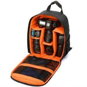 VOSMEP Kameratasche Kamerarucksack Wasserdichte Nylon Multi-Funktions