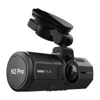 Vantrue N2 Pro Dual Dashcam full HD Autokamera mit 170° Weitwinkelobjektive (vorne, WQHD 1440p 2k DVR), 1.5 Zoll LCD Bildschirm, IR Sensor(Rückkamera),Nachtsicht, Parkmonitoring, Bewegungserkennung,Loop-Aufnahme und G-Sensor
