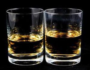 Glas Whisky 1