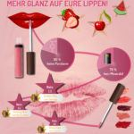 Infografik Lipgloss Experten Testen
